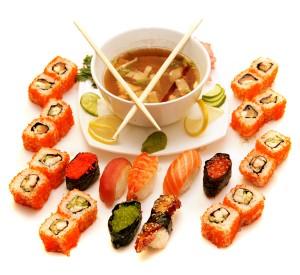 Суши-диета – полезная радость