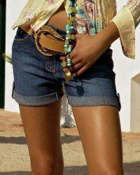 Хит лета 2010 - джинсовые шорты!