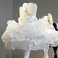 В Британии создали растворимые свадебные платья