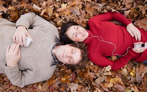 Одинаковые музыкальные вкусы скрепляют пары