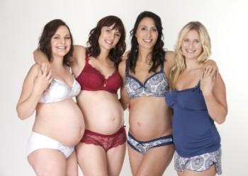 Как выбрать красивое нижнее белье для беременных
