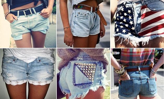 Модные шорты: сезон лето 2013