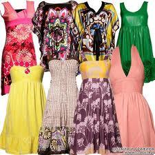 Женские платья лета 2013: яркость, воздушность, контрасты
