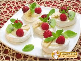Десерты из ягод и фруктов