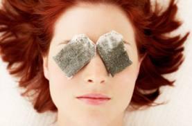 Бытовые средства против уставших и опухших глаз