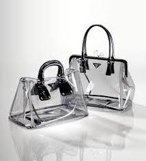 Прозрачная сумка – модный писк лета 2013