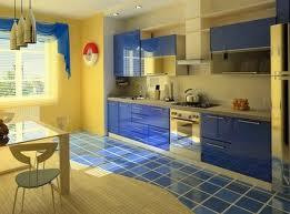 Интерьер квартиры в Средиземноморском стиле. Обустройство кухни — столовой.