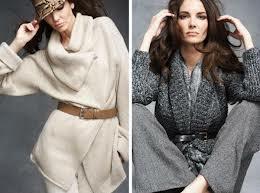 Вязаная одежда снова в моде