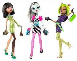 Куклы Monster High — лучший подарок для девочки