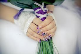 Маникюр невесты для свадьбы