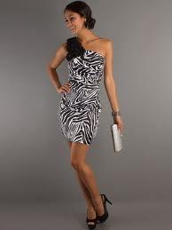 Стиль зебры. Модные платья 2013-2014 года.