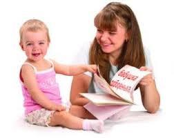 Читаем книжки ребенку до 1 года