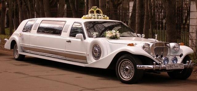 Свадебные средства передвижения. Лимузин или ...?