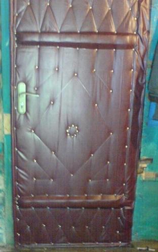 Утепляем входную дверь на даче