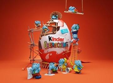 Шоколадные яйца киндер сюрприз