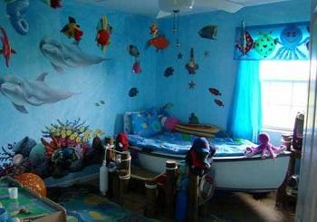 Оформляем ванную комнату в морском стиле