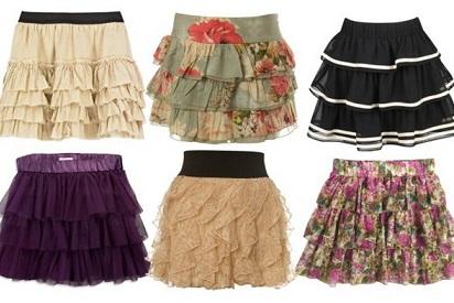 Все внимание на симпатичные ножки: стильные женские юбки
