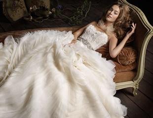 Свадебные платья с поясом