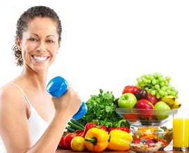 Фитнес даст великолепный эффект при правильном питании
