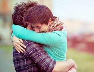 Как мы обнимаем любимых людей