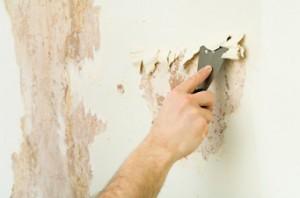очистить стены от обоев