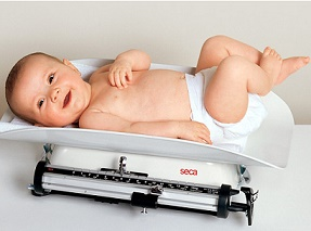 Увеличение веса у детей