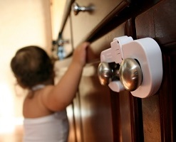 Недоступные для детей дверные замки