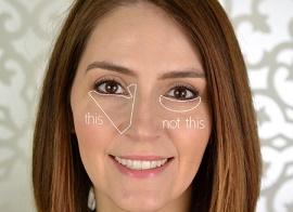 Грубые ошибки при нанесении косметики