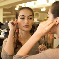 Как подобрать сережки для своей формы лица