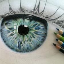 Выбираем карандаши для зеленых глаз