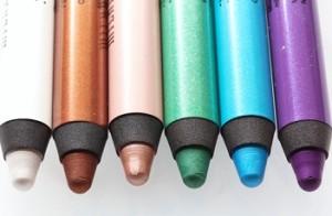 карандаши для зеленых глаз