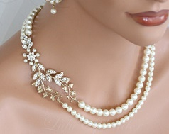 подлинное жемчужное ожерелье