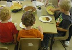 Суточный рацион детского питания
