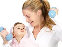Худеем после родов без ущерба для здоровья