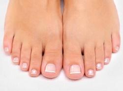 Уход за кожей вокруг ногтей пальцев ног